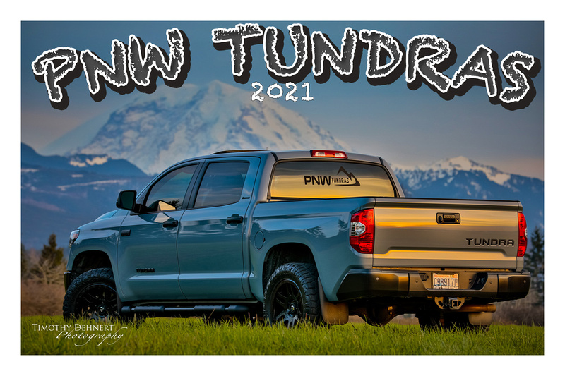 PNW Tundras Post Cards