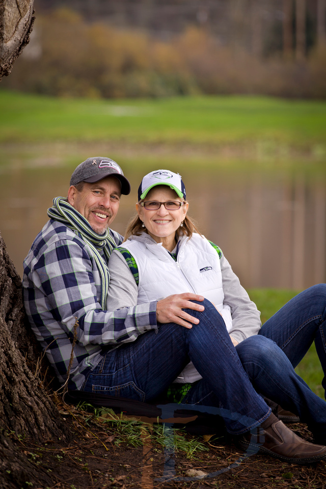 Timothy Dehnert photography, engagement and couples portrait photographer at the former Sumner Meadows golf course in Sumner, WA