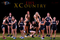 EHS XC 2019 Girls 12x18 Team Poster