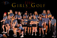EHS Golf(Girls)2019 12x18 Team Poster