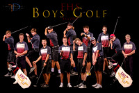 EHS Golf(Boys)2019 12x18 Team Poster
