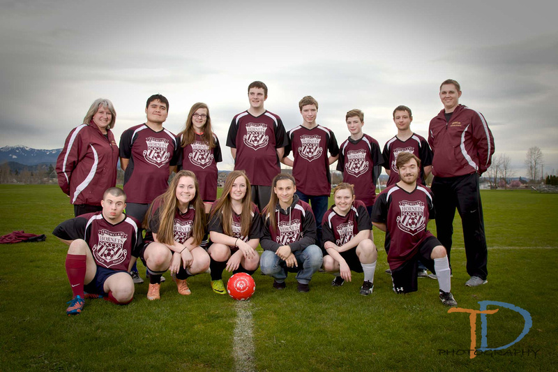 Enumclaw Special Olympics Unified Soccer Team